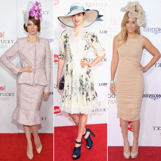 Which Celebrity Aced The Derby Dress Code Kentucky Derby Style Pictures And Dress Codes