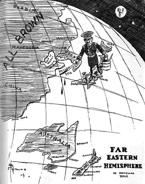 A Cartoon Produced By E F Hiscocks In 1904 Depicting The
