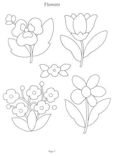 Aplicaciones Para Patchwork Y Quilt Flores Para Dibujar Arte Bordado A Mano Patrones De Bordado