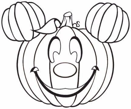Imagenes de calabazas para colorear en este Halloween | halloween ...