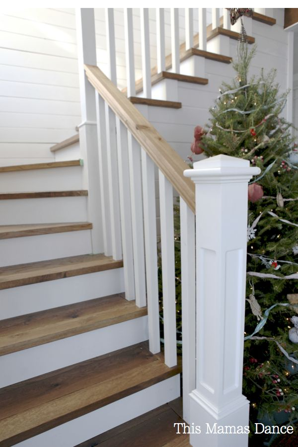 Stud Free Our New Living Room Cottage Staircase Staircase Design Traditional Staircase
