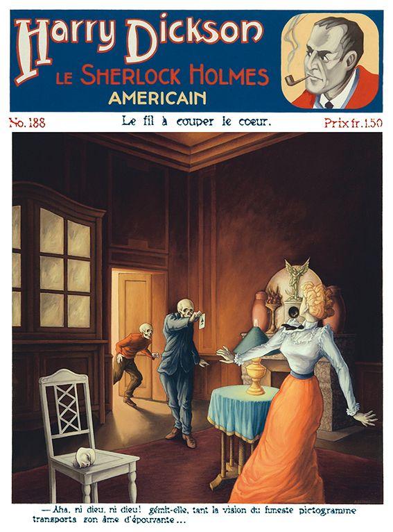 Harry Dickson No 188 Le Fil A Couper Le Cœur Sherlock Holmes Sherlock Heros Comics