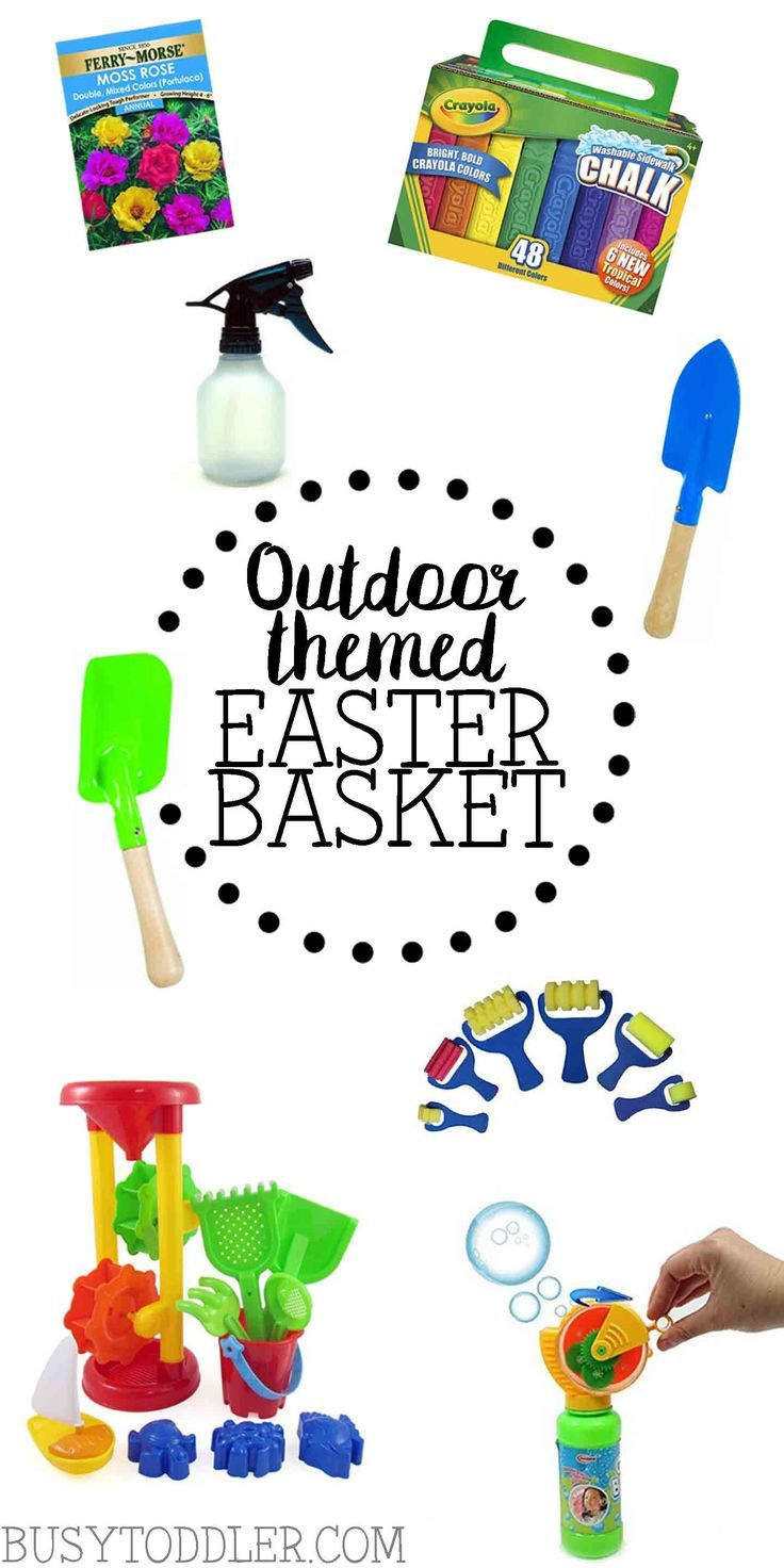 Outdoor Themed Easter Basket Busy Toddler Easter Basket Themes Toddler Boy Easter Basket Boys Easter Basket