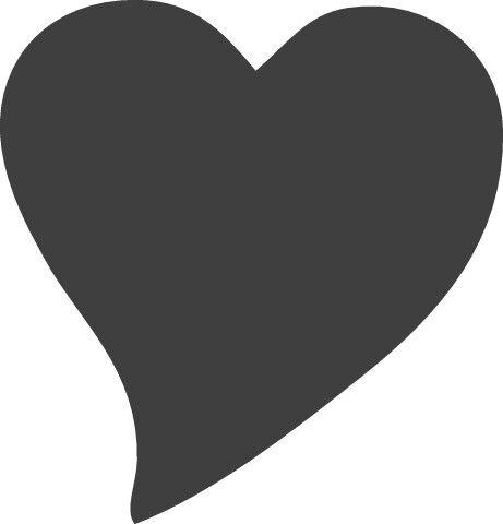 Herz Schablone Zum Ausdrucken Herzschablone Herz Vorlage Schablonen Zum Ausdrucken