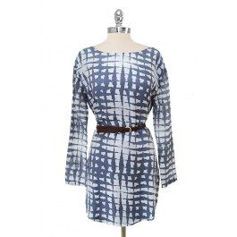 Blues on Square Dress - Dresses - Apparel Online : Canada / USA : Onze Shop