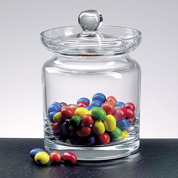 Mouth Blown Glass 5 5 Inch Biscuit Candy Jar Biscuit Jar Candy Buffet Apothecary Jars Glass Apothecary Jars