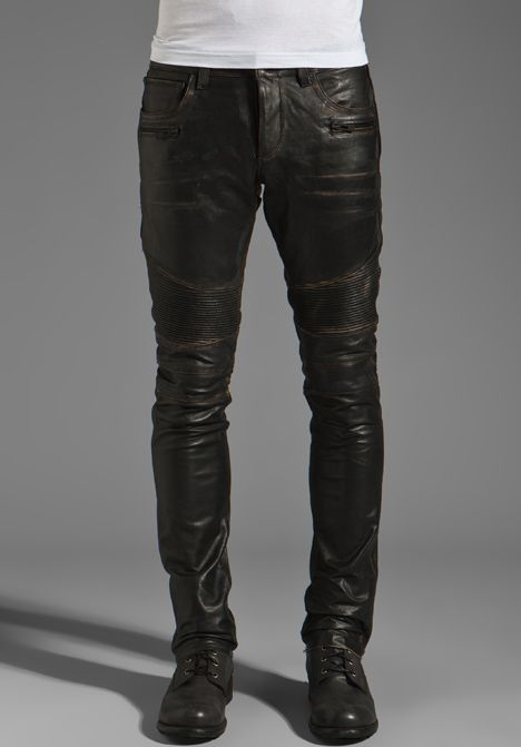 92190ab691a24c ROGUE Leather Pants in Black