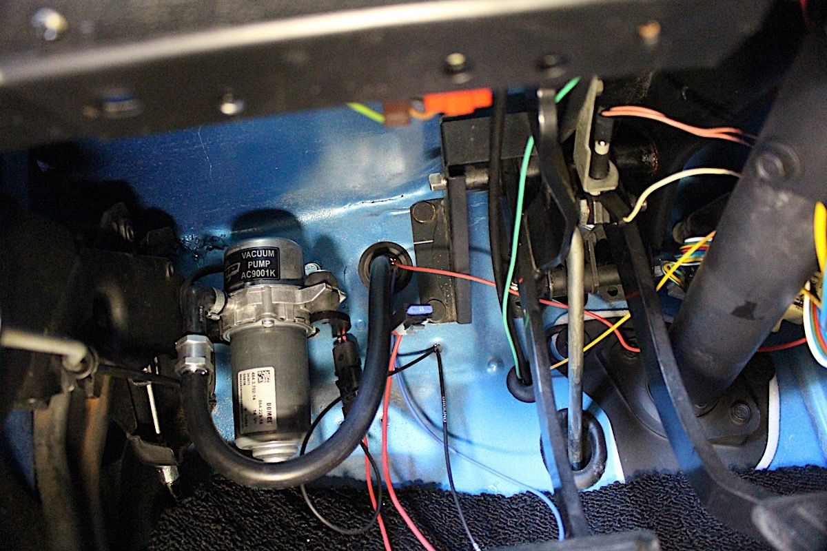 Vacuum pumps are valuable on cars with big cam profiles but they