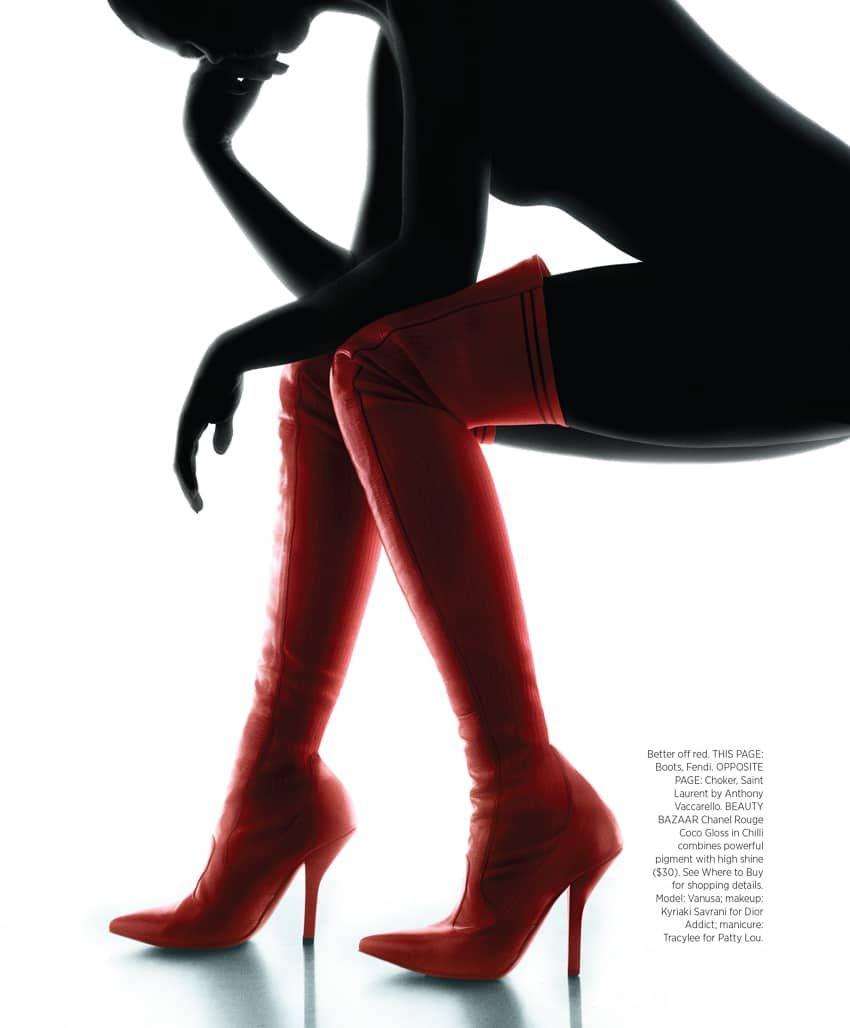 Harper's Bazaar June 2017 Vanusa Savaris by Torkil Gudnason - Fashion Editorials