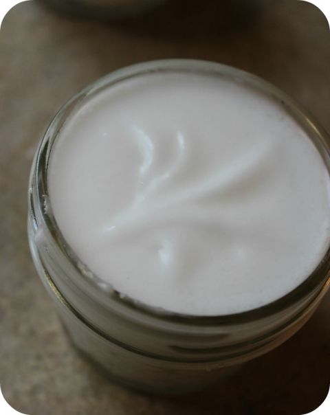 coconut oil lotion