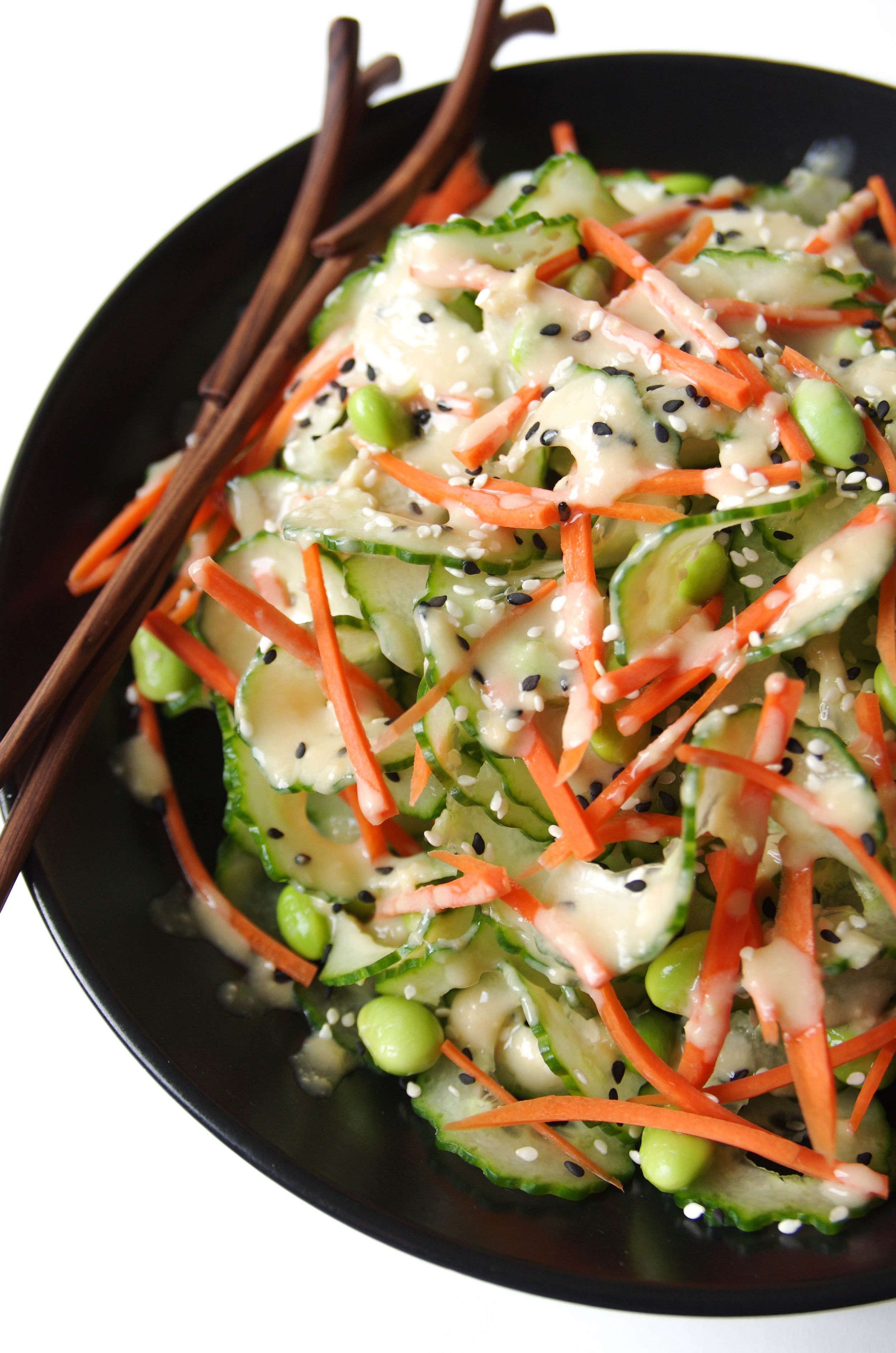 Cucumber Salad Dressing with Miso Salad Dressing