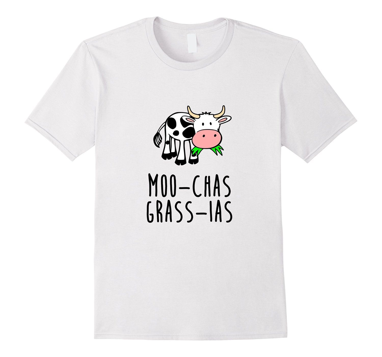 Amazon Com Cow Learning Spanish Funny Cartoon Thank You T Shirt Clothing Spanish Club Ideas Funny Cartoon Funny Tees