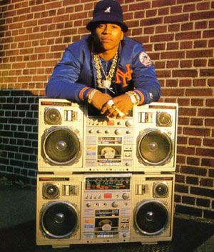 LL Cool J: he couldn't live without his radio-cassette.