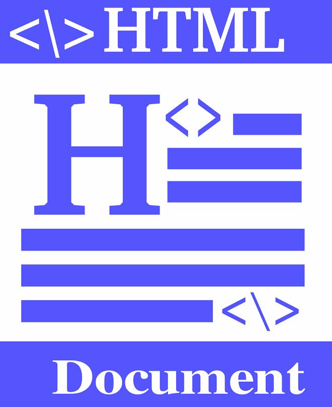 An HTML document