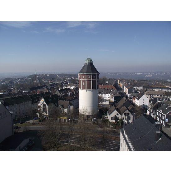 Blick auf Stadtkegel mit Waterbölles   Bergisches Land ...  Blick auf Stadt...