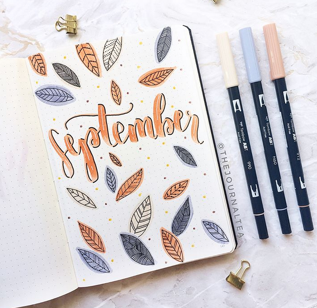 Bujo - 24 September Bullet Journal Layouts & Themes You'll LOVE