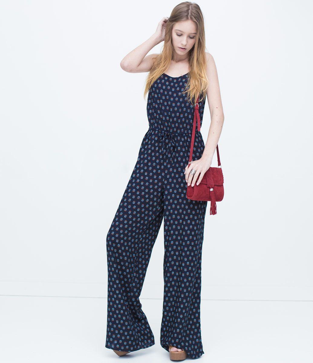 257565af0 Macacão Longo Feminino Estampado - Lojas Renner | style ideas ...