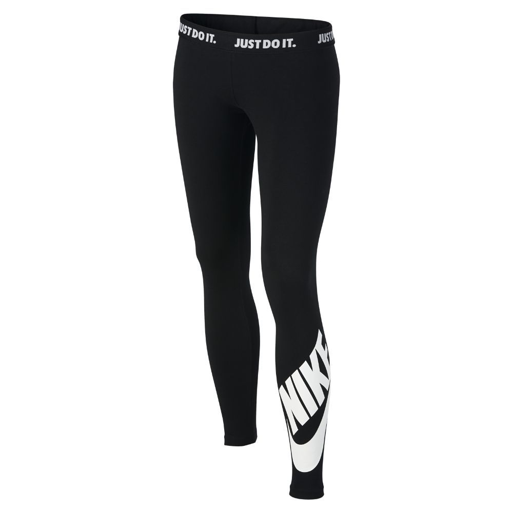 316859aa807f6 Nike Sportswear Leg-A-See Big Kids  (Girls ) Tights Size Large (Black)