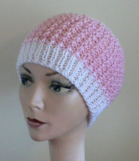 The Inside Out Knit Chemo Cap Knitting Pinterest Cap Crochet