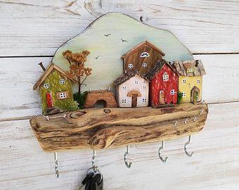 Photo of Driftwood House Ornament & Driftwood von BalticDriftwoodGift