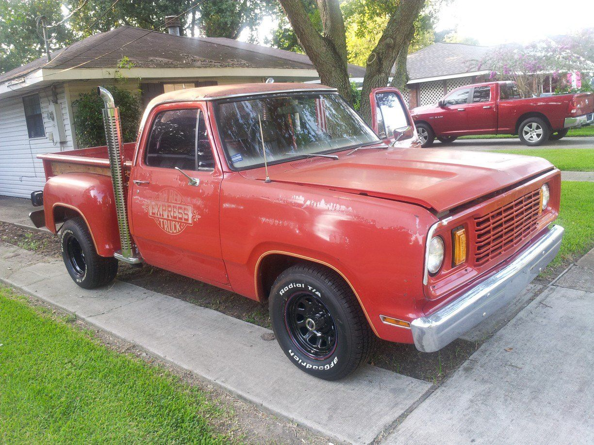 Must sell 1978 dodge ram lil red express