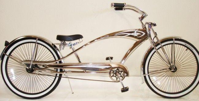 Bicycle Springer Fork Head Chrome Lowrider Cruiser Chopper Trike Bike Any Size