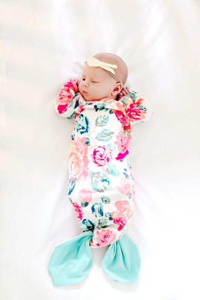 PDF Pattern - the BABY GOWN - Mermaid + Basic Versions   Mermaid ...