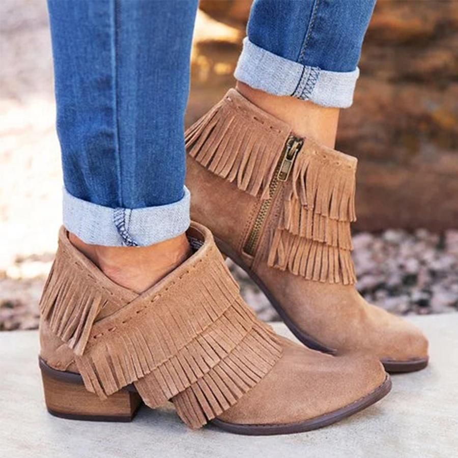 Boots, Wedge heel boots