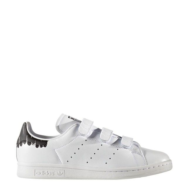 adidas originals baskets stan smith cf femme blanc