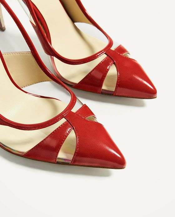 SALÓN ROJO VINILO | Zapatos mujer, Tacones, Zapatos de boda