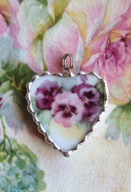 vintage pansy china - Google Search