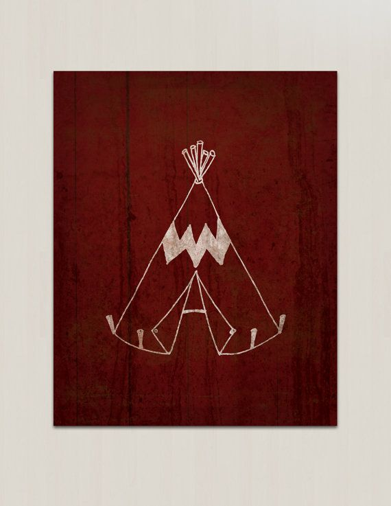 Western Teepee Wall Art - Cowboy Western Nursery Print, Nursery Wall Decor on Etsy, $7.74 AUD