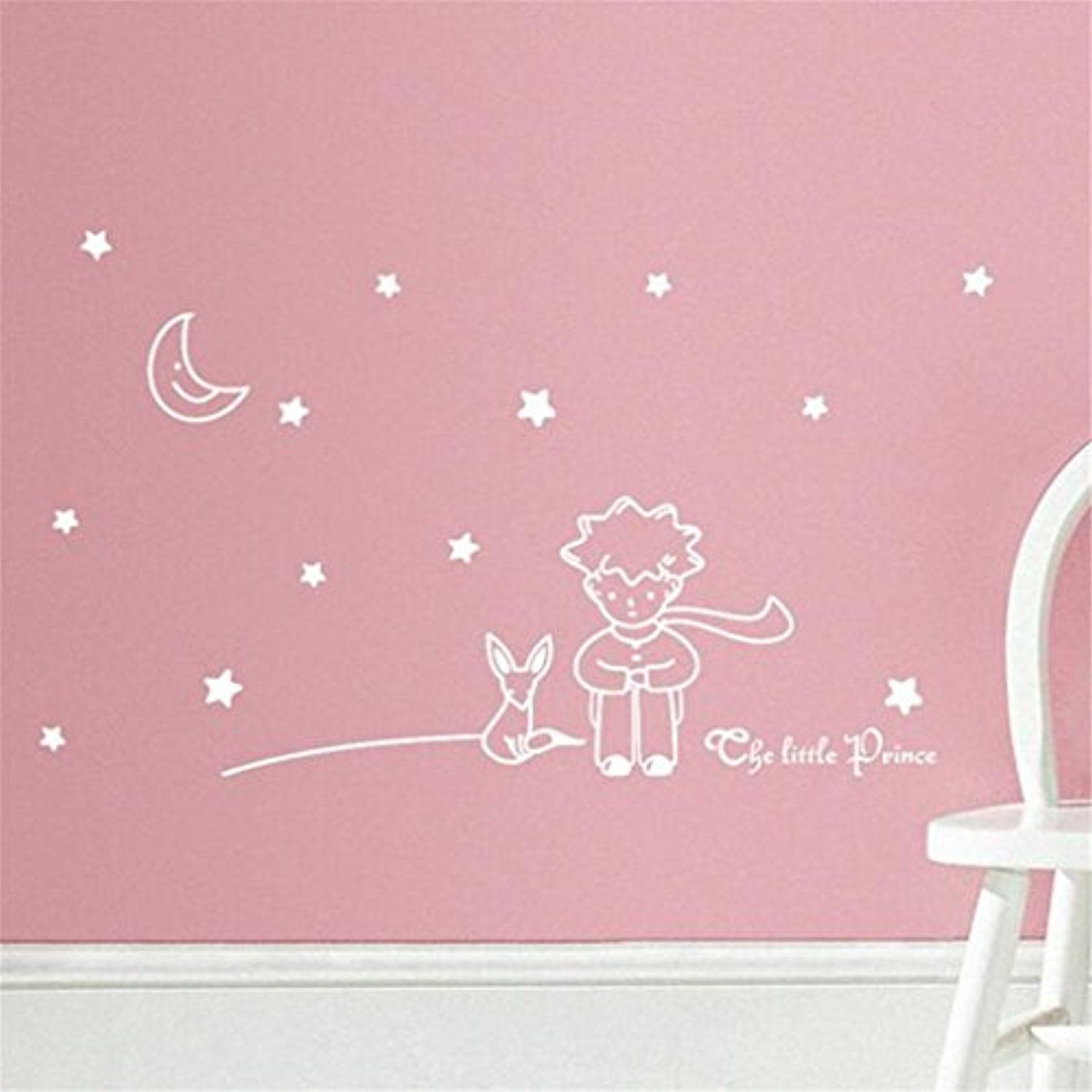 Wall Sticker, Stars Moon And The Little Prince Boy Wall