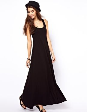 Enlarge ASOS Maxi Dress In A-Line Shape - Should be a simple sewing project 14aad12b592b