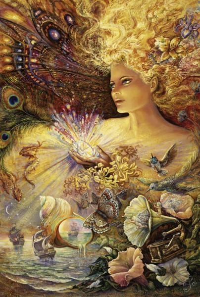 Art poster 3 set ~ fairies josephine wall faery lot | fantasia