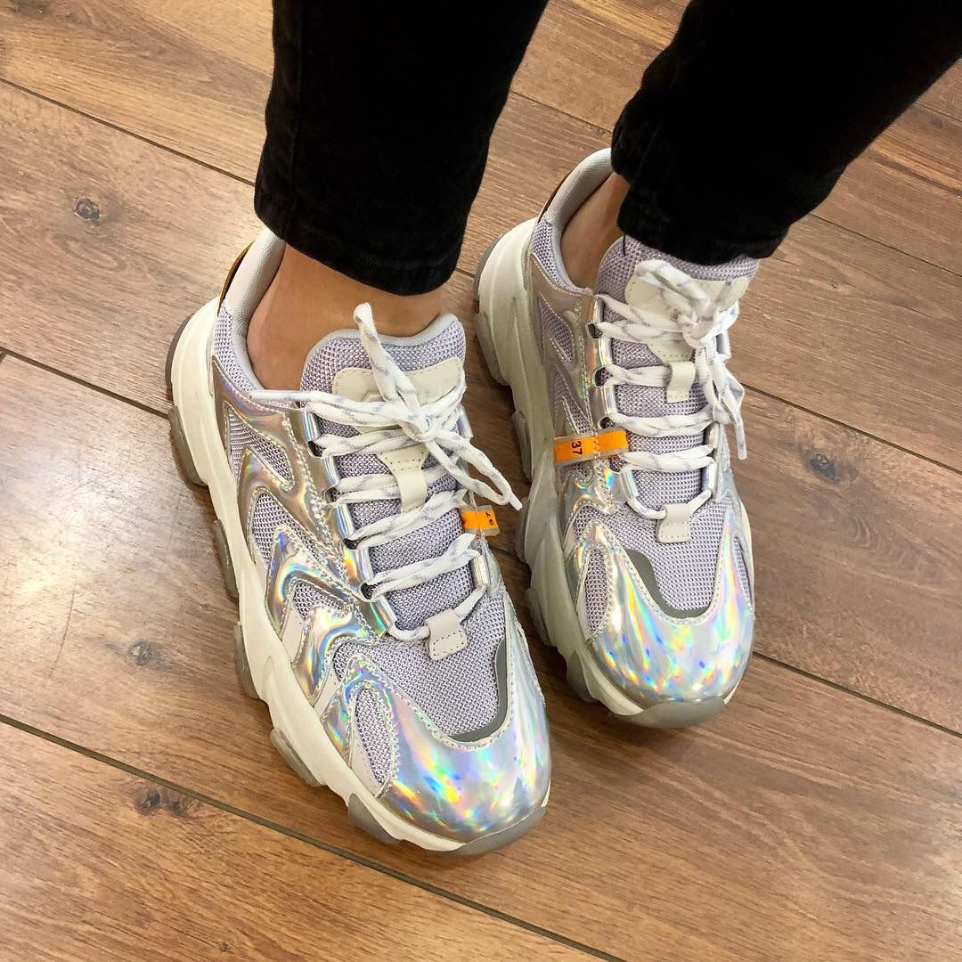 Baskets Ash modèle Extreme été 2019. Fashion Shoes, chunky