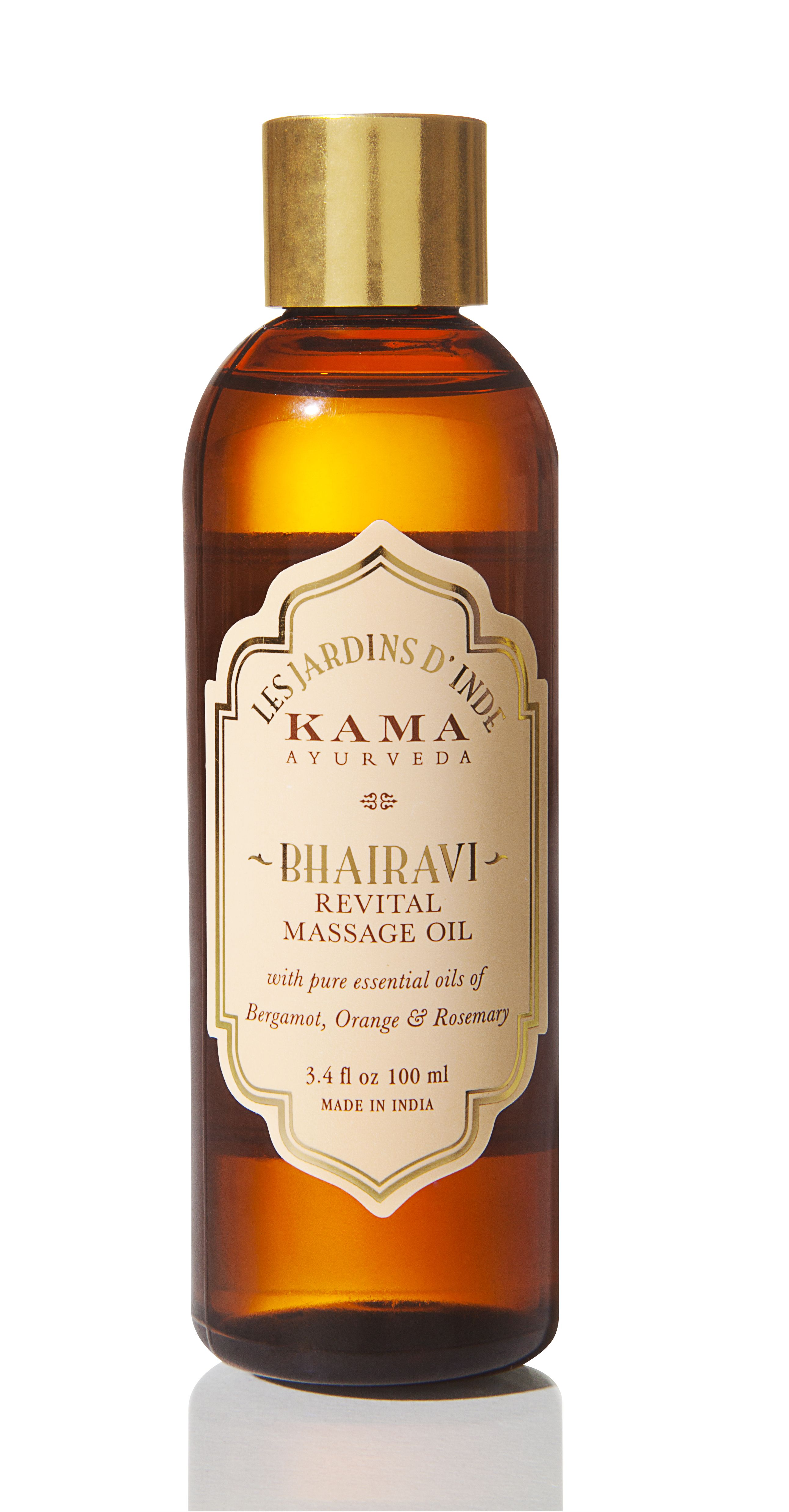A softening and relaxing body massage oil that melts away