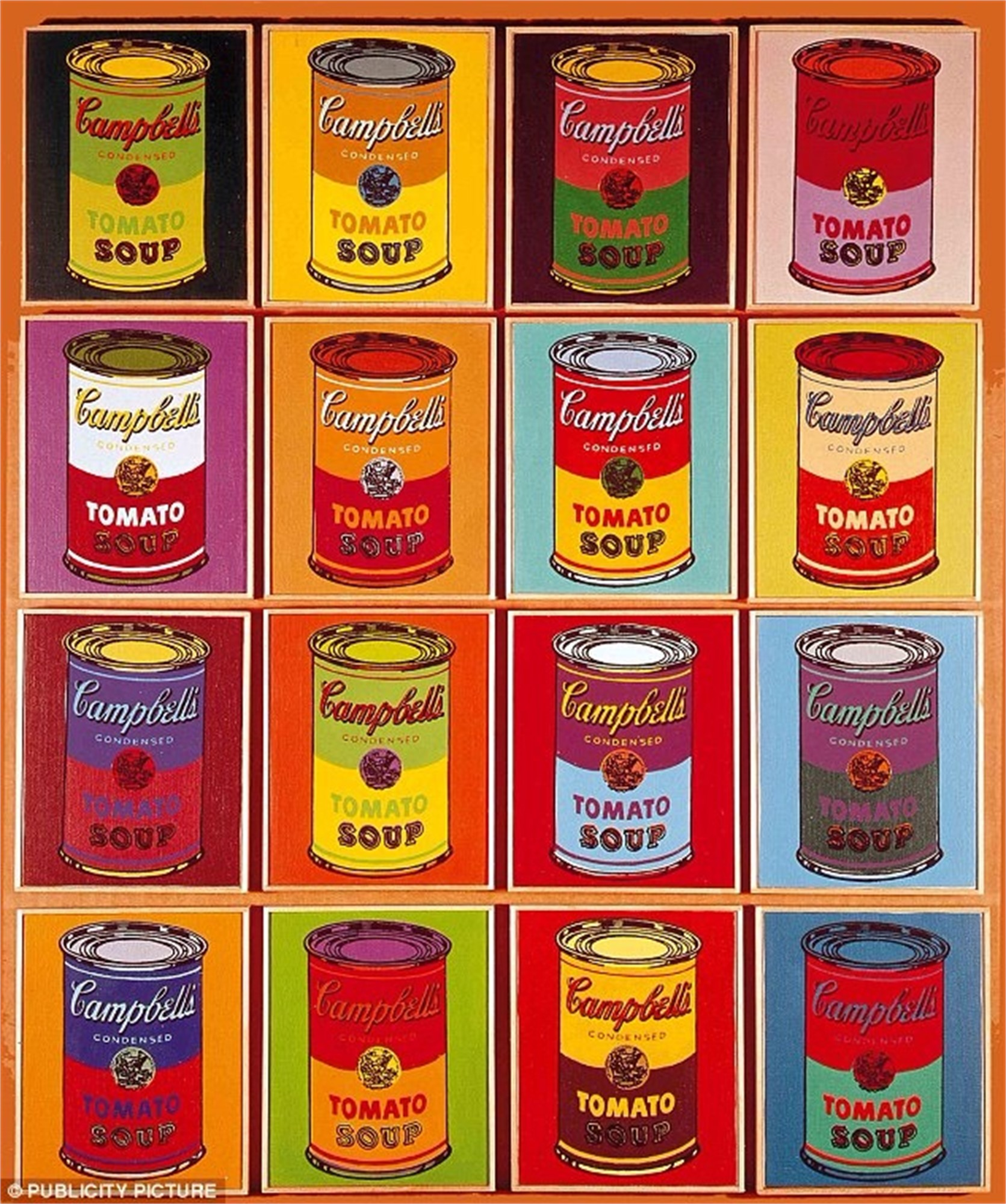 Campbell S Soup Cans By Andy Warhol Artcloud Andy Warhol Art Andy Warhol Pop Art Andy Warhol Inspired