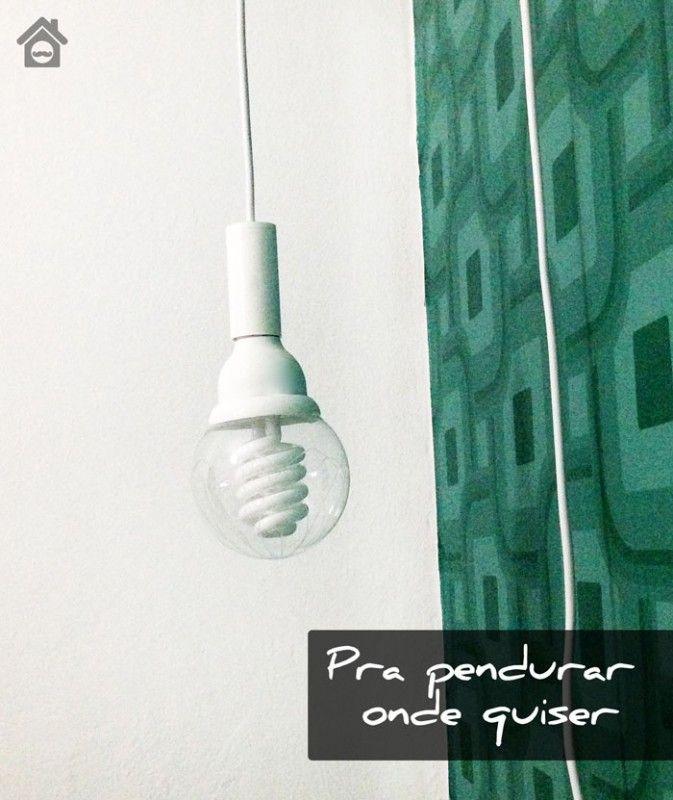 Faça Você Mesmo, Luminária Pendente | SOS Solteiros