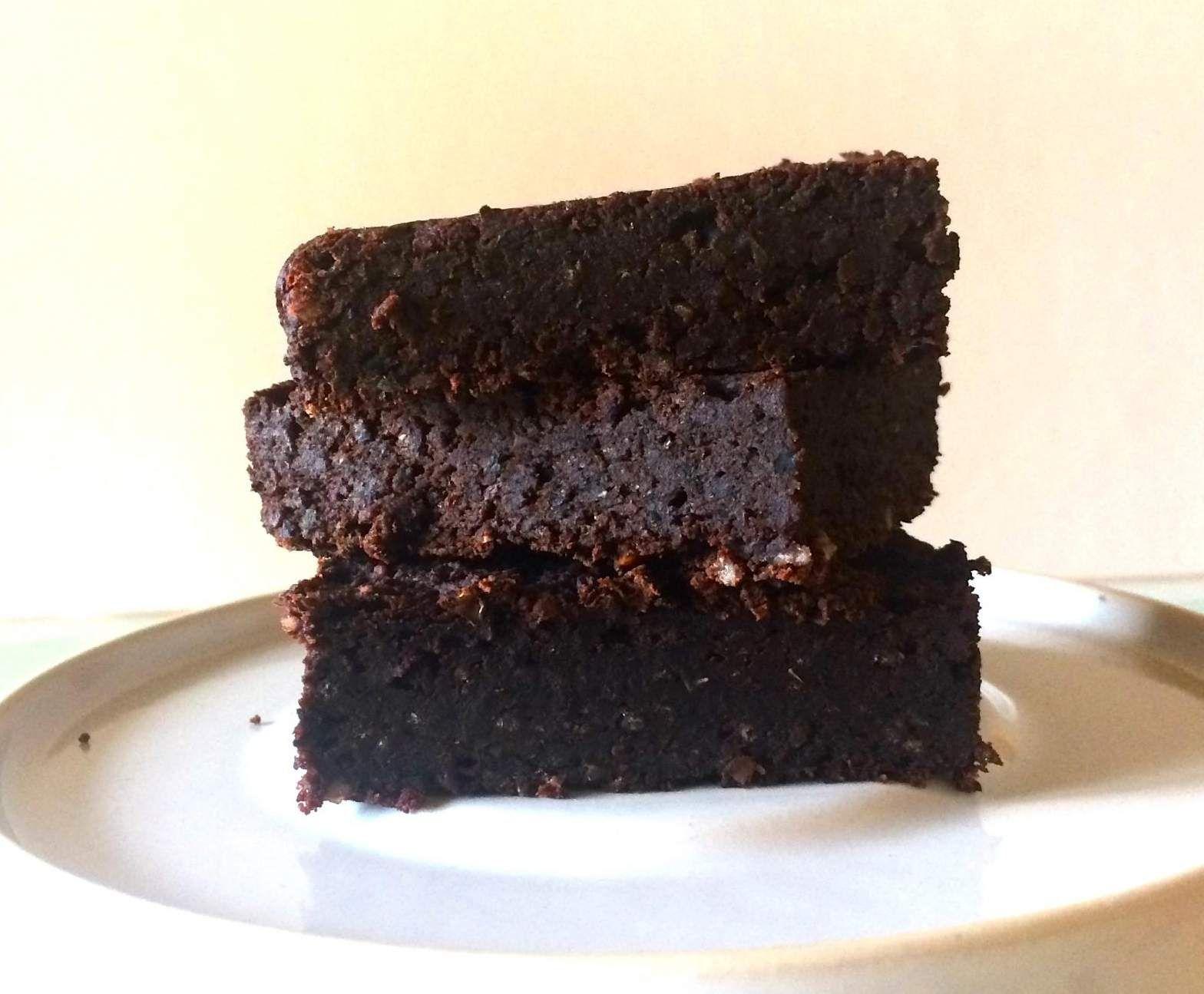 Brownie Aus Schwarzen Bohnen Vegan Glutenfrei Gesund Rezept Dessert Ideen Vegan Nachspeise
