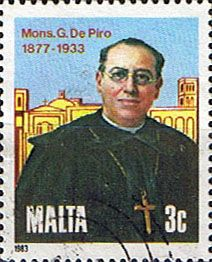 Malta Stamps 1983 Monsignor Giuseppe de Piro SG 714 Fine Used Scott 629 Other European and British Commonwealth Stamps HERE!