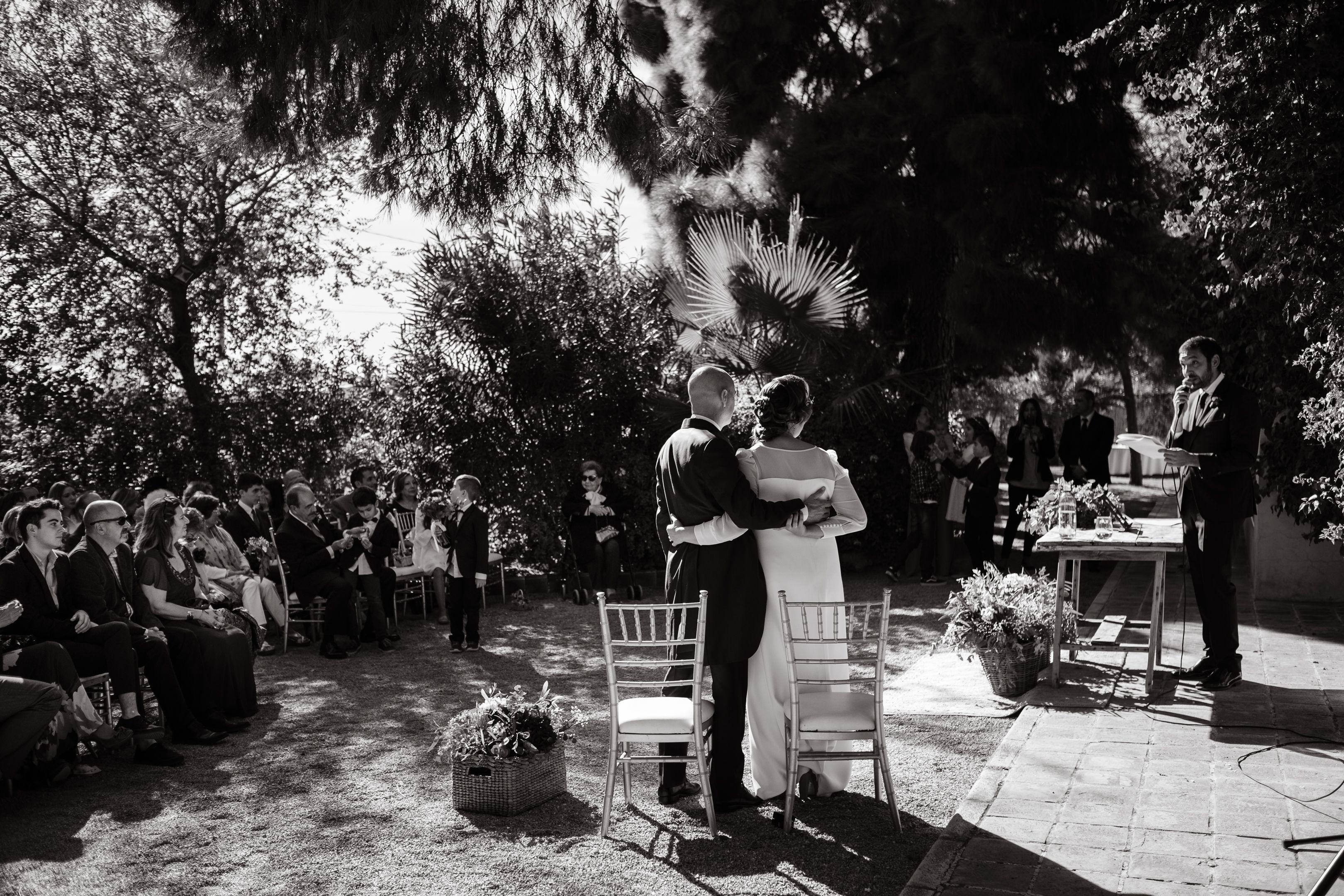 c67bb4e0 Ceremonia civil al aire libre. Bodas de otoño. Wedding Planner Murcia, bodas  en