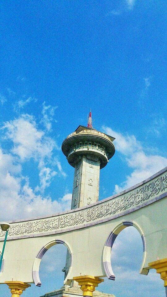 Tower Of Masjid Agung Semarang Central Java Petualangan