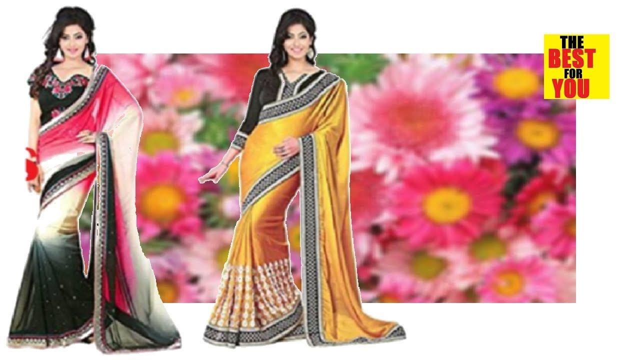 3e3dc79f7a4 Top Indian and Pakistani Sarees Sari Design Collection Sarees in amazon  shopping online dresses