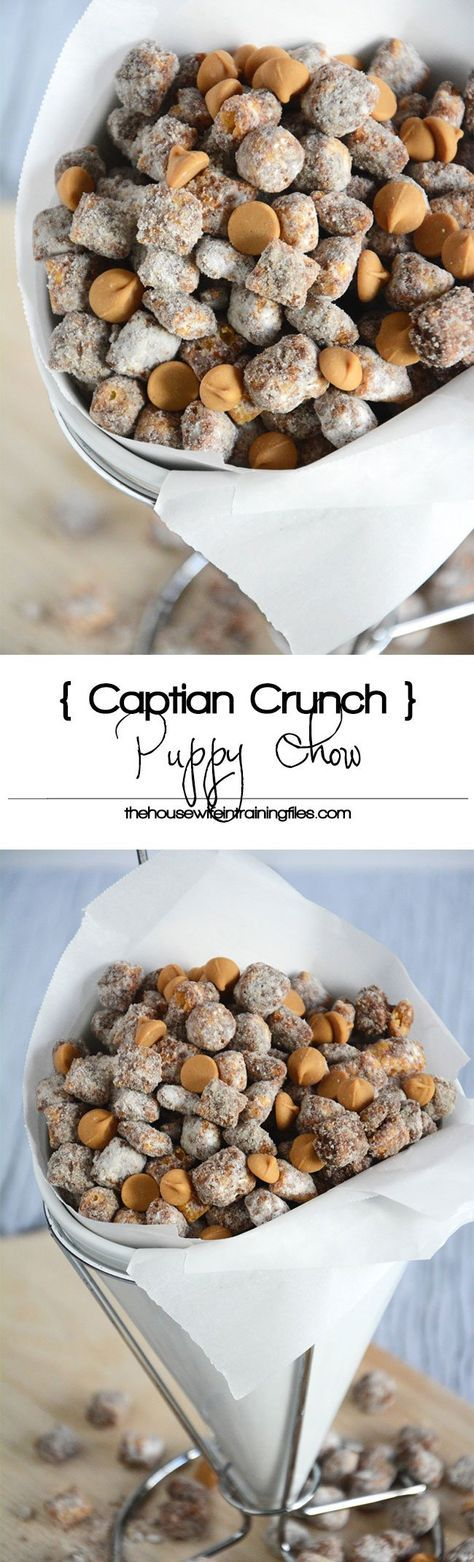 Captain Crunch Peanut Butter Puppy Chow Recipe Chex