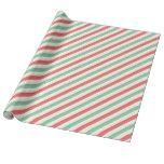 Mint Pink Diagonal Stripe Wrapping Paper Gift Wrap  					 			  		 			 $19.95  			 by  gryphonstudio  http://www.zazzle.com/mint_pink_diagonal_stripe_wrapping_paper_gift_wrap-256318446174606338