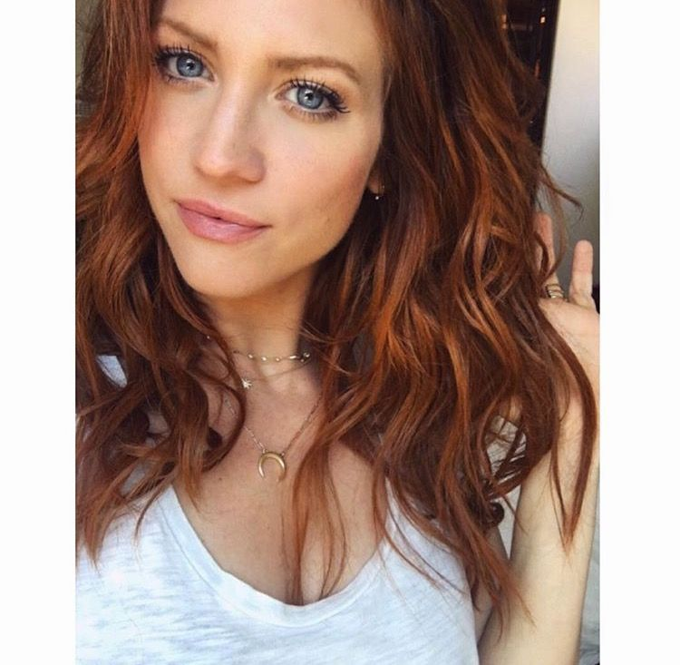 Brittany Snow: This is like my new fave....can her hair stay this color forever?!?