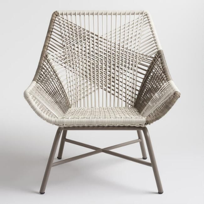 Fantastic Gray Woven All Weather Wicker Andalusia Outdoor Chair V2 Creativecarmelina Interior Chair Design Creativecarmelinacom
