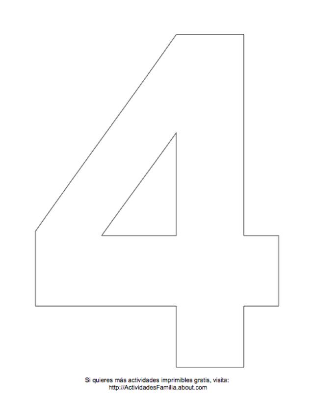 Dibujos de números para colorear | Proyectos que intentar ...