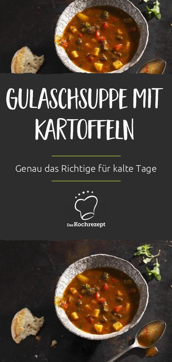 Gulaschsuppe mit Kartoffeln #gulaschrezept